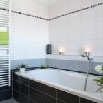 Le carrelage dans une salle de bain
