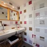 Carrelage mural dans une salle de bain