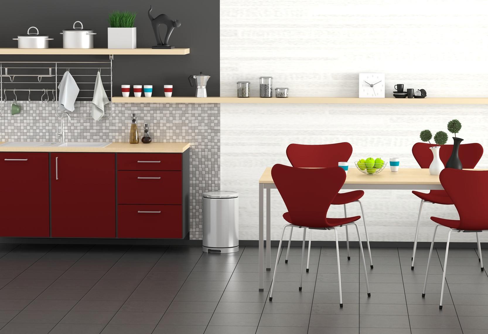 carrelage au sol d 39 une cuisine tous les conseils pour le choisir. Black Bedroom Furniture Sets. Home Design Ideas