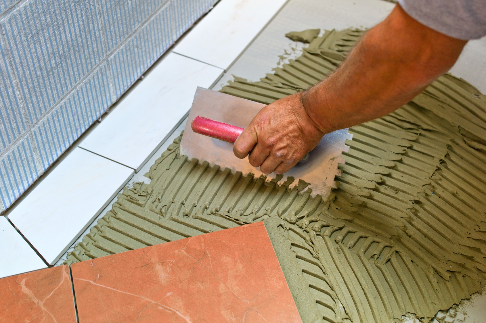 Poser du carrelage tuto for Poser du carrelage