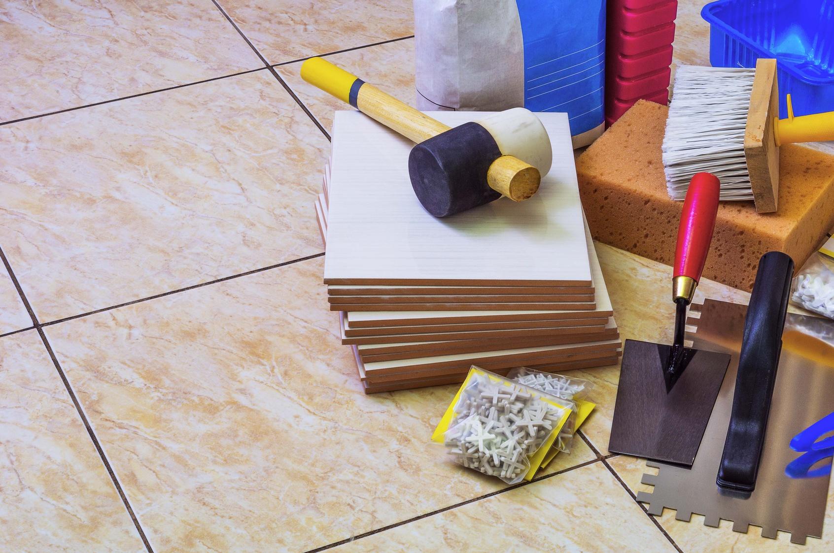 Plan De Travail A Carreler Exterieur le matériel indispensable pour la pose d'un carrelage