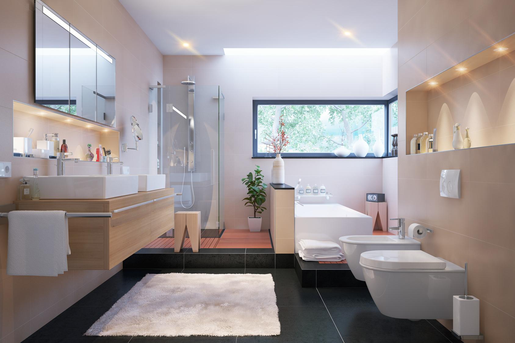 Carrelage Sol Salle De Bain Gris Anthracite choisir un carrelage au sol pour salle de bain