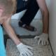 Le carrelage terrazzo dans une salle de bain