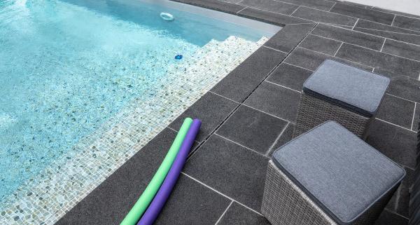 Coût d'une piscine carrelée