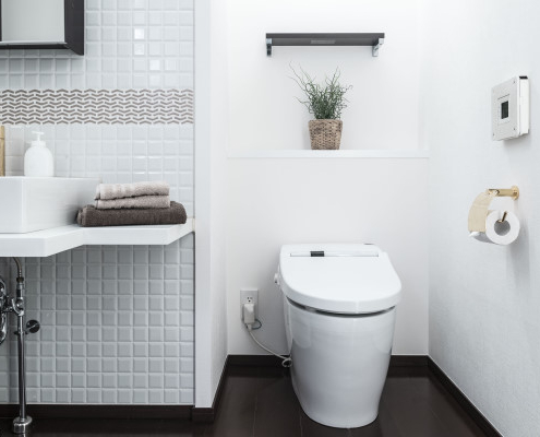Tout savoir sur la frise de salle de bain en hauteur